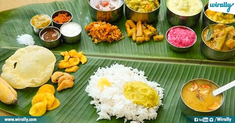 Vegetable Sadhya