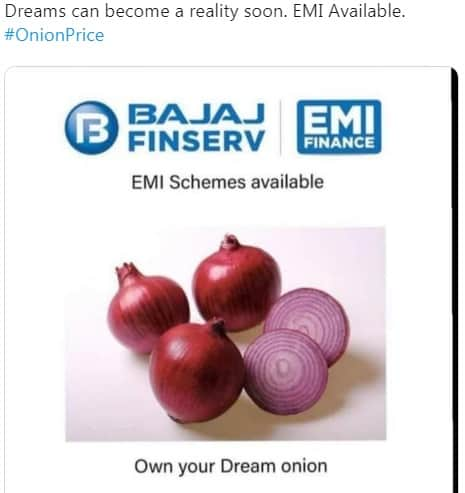 Memes On Onion Prices