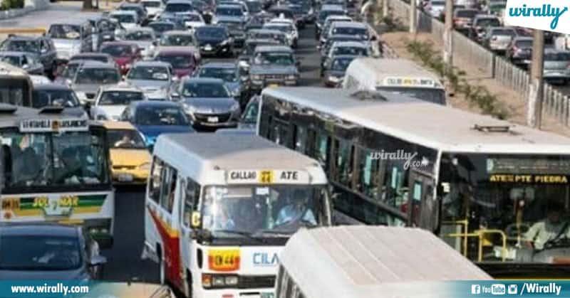 Worst Traffic Cities