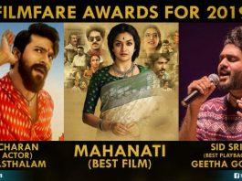 Filmfare Awards For 2019