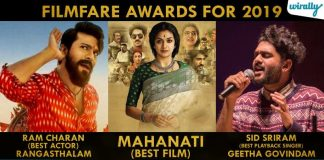Filmfare Awards For 2019