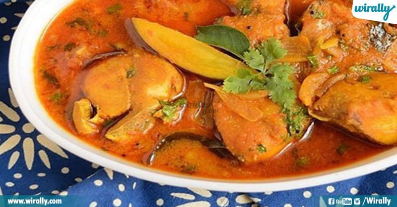 Raw Mango Fish Curries