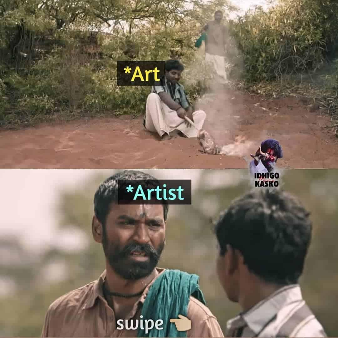 18. The Art The Artist Memes