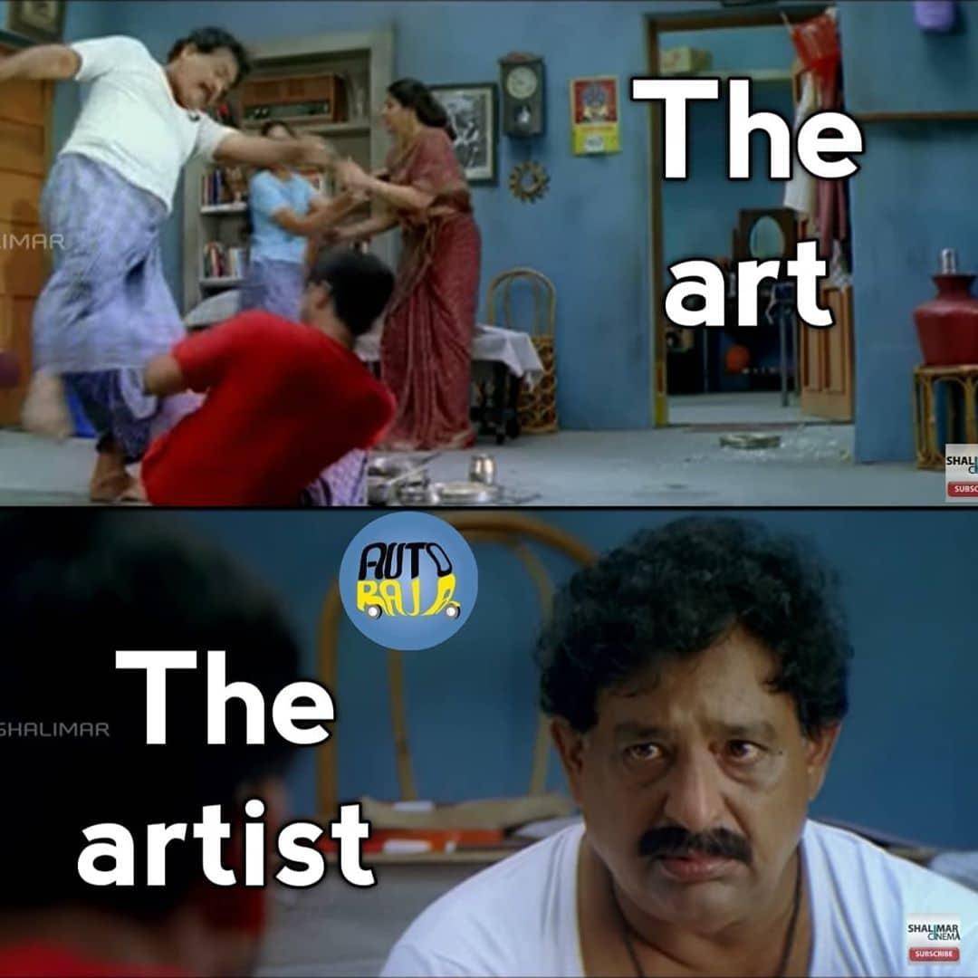 4. The Art The Artist Memes
