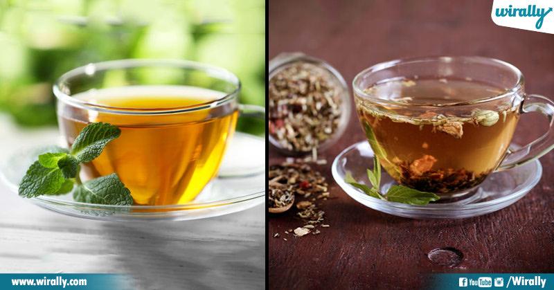 Green Tea Herbal Tea