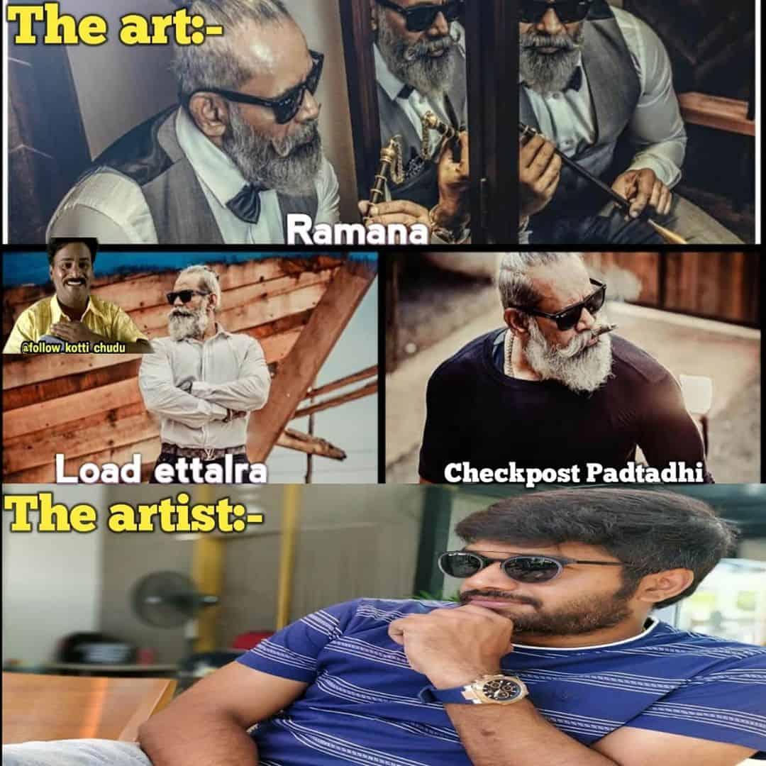 5. The Art The Artist Memes