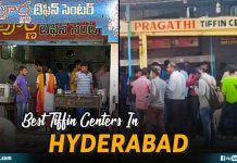 Best Tiffin Centers In Hyderabad