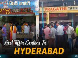 Best Tiffin Centers In Hyderabad