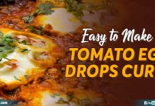 Tomato Egg Drops Curry