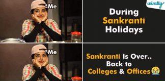 Sankranti Holidays