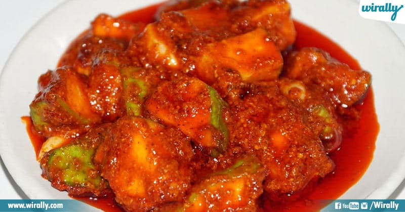 Mouth Watering Andhra Pickles