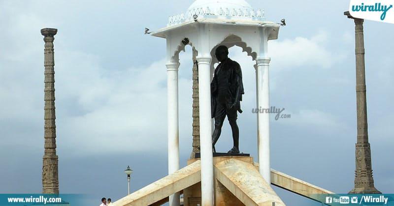 Pondicherry Gandhi Statue