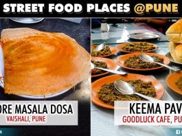 Places In Pune To Taste Mouth Watering Street Food