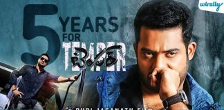 5 Years Of Temper 10 Reasons Why Temper Will Always Remain A Special Film To Ntr Fans