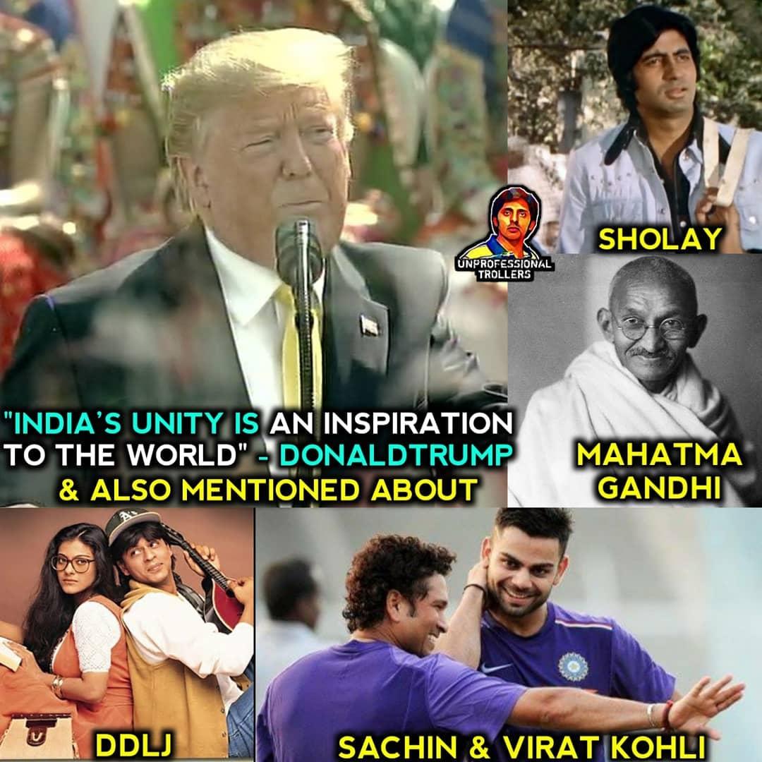 Trump India Visit Memes