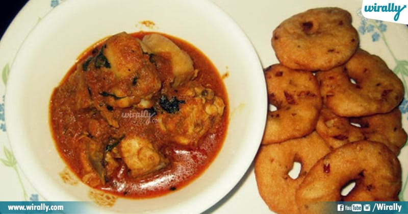 Vada Chicken Curry