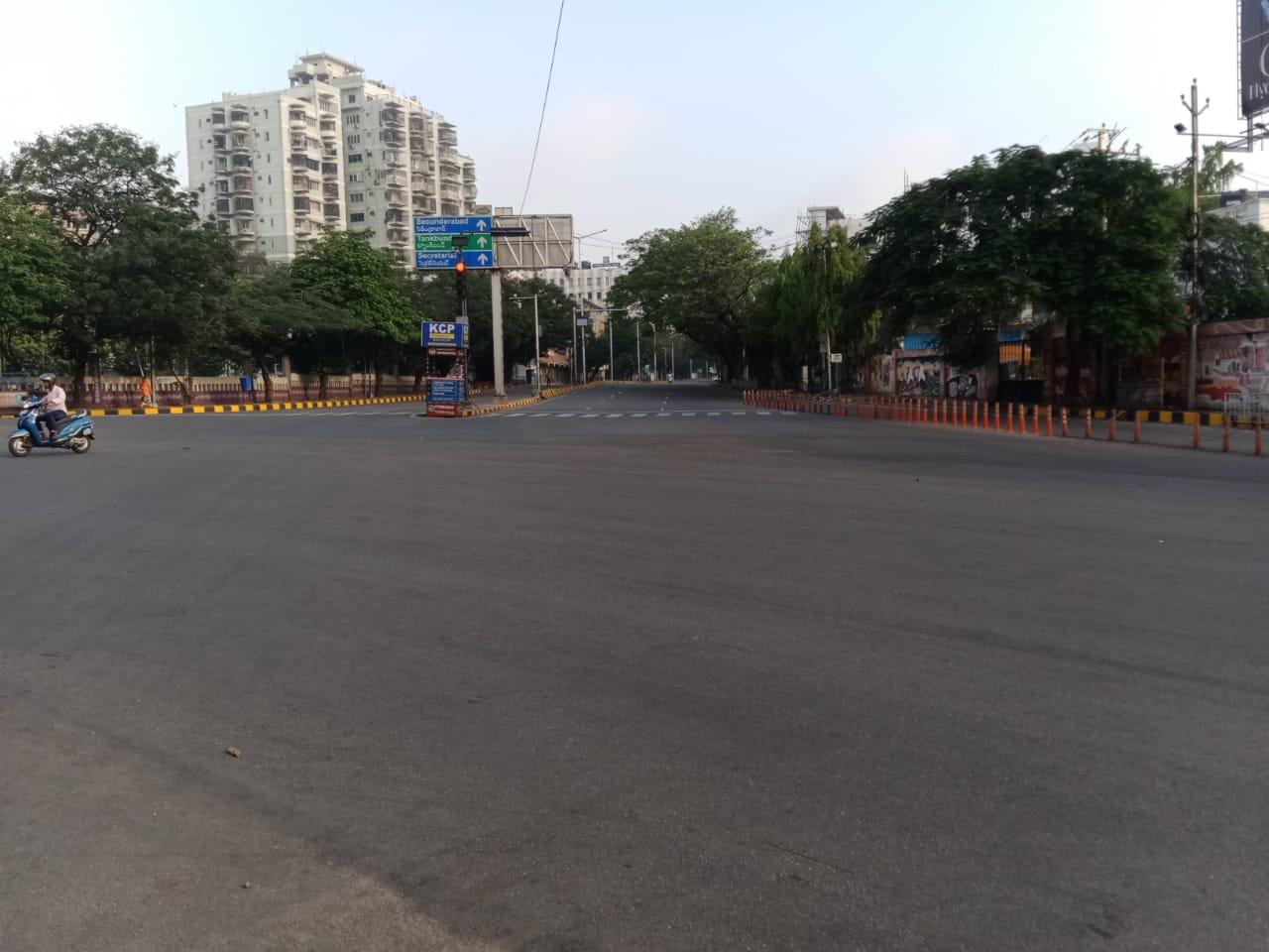 1a. Janatha Curfew Hyderabad