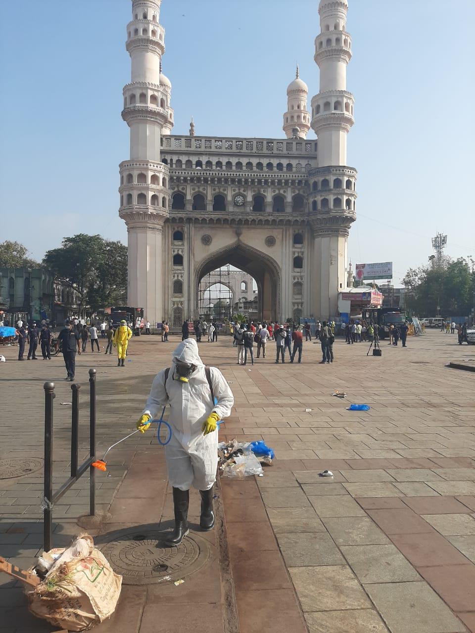 1b. Janatha Curfew Hyderabad