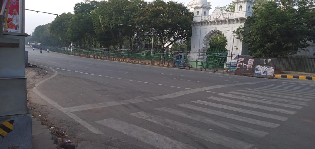 1c. Janatha Curfew Hyderabad