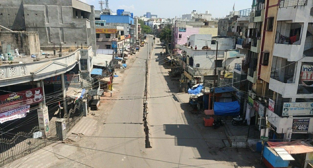 1f. Janatha Curfew Hyderabad
