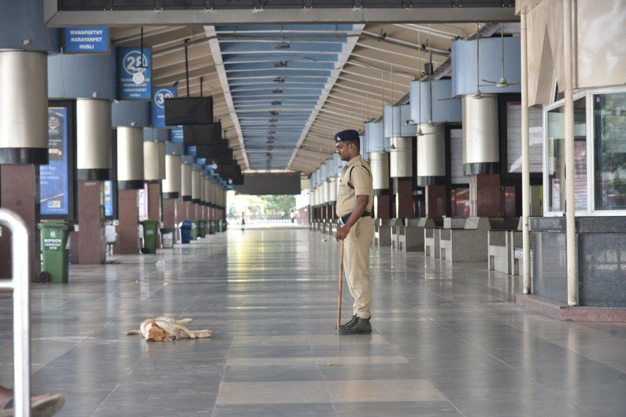 1l. Janatha Curfew Hyderabad
