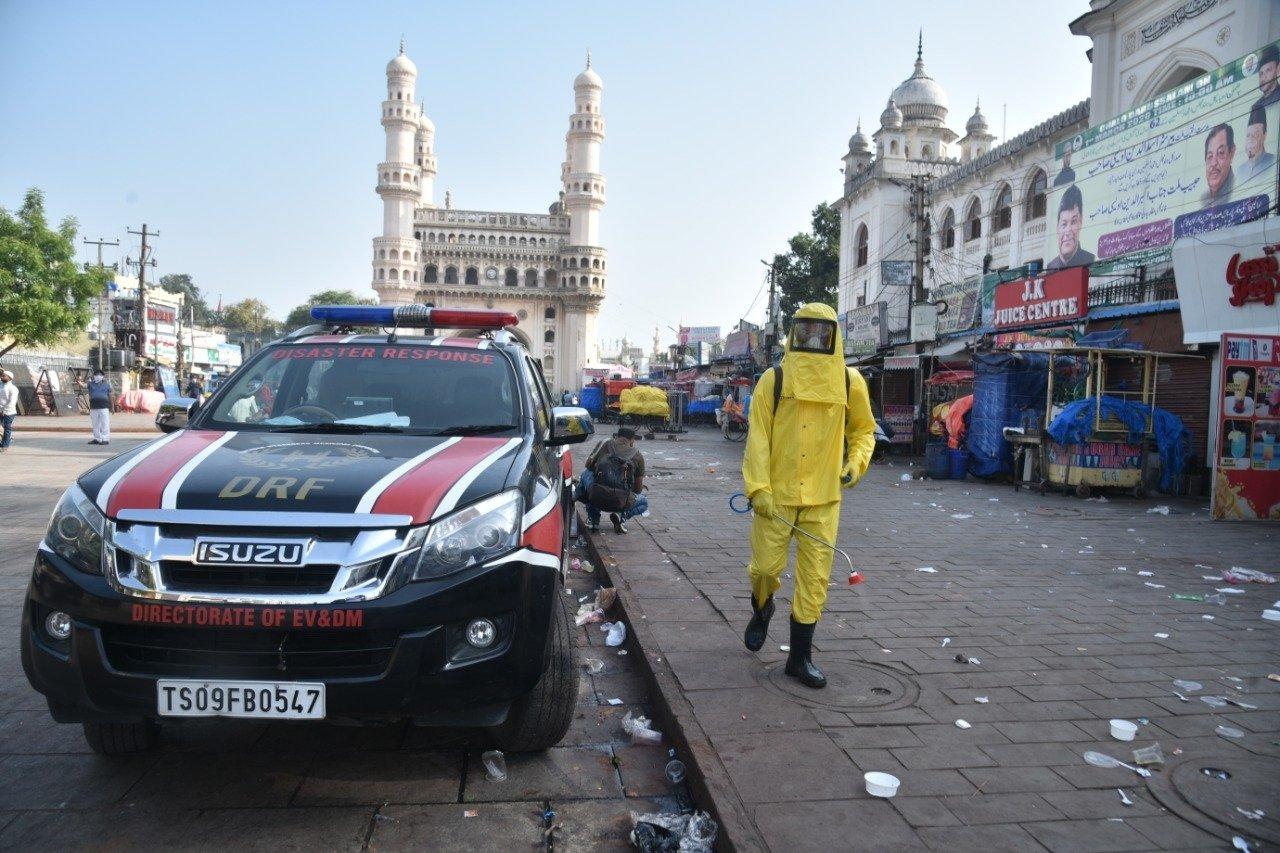 1m. Janatha Curfew Hyderabad