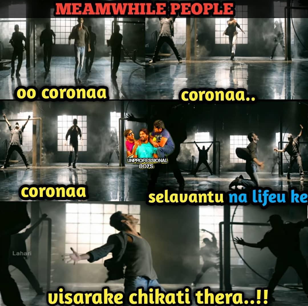 2. Corona Memes
