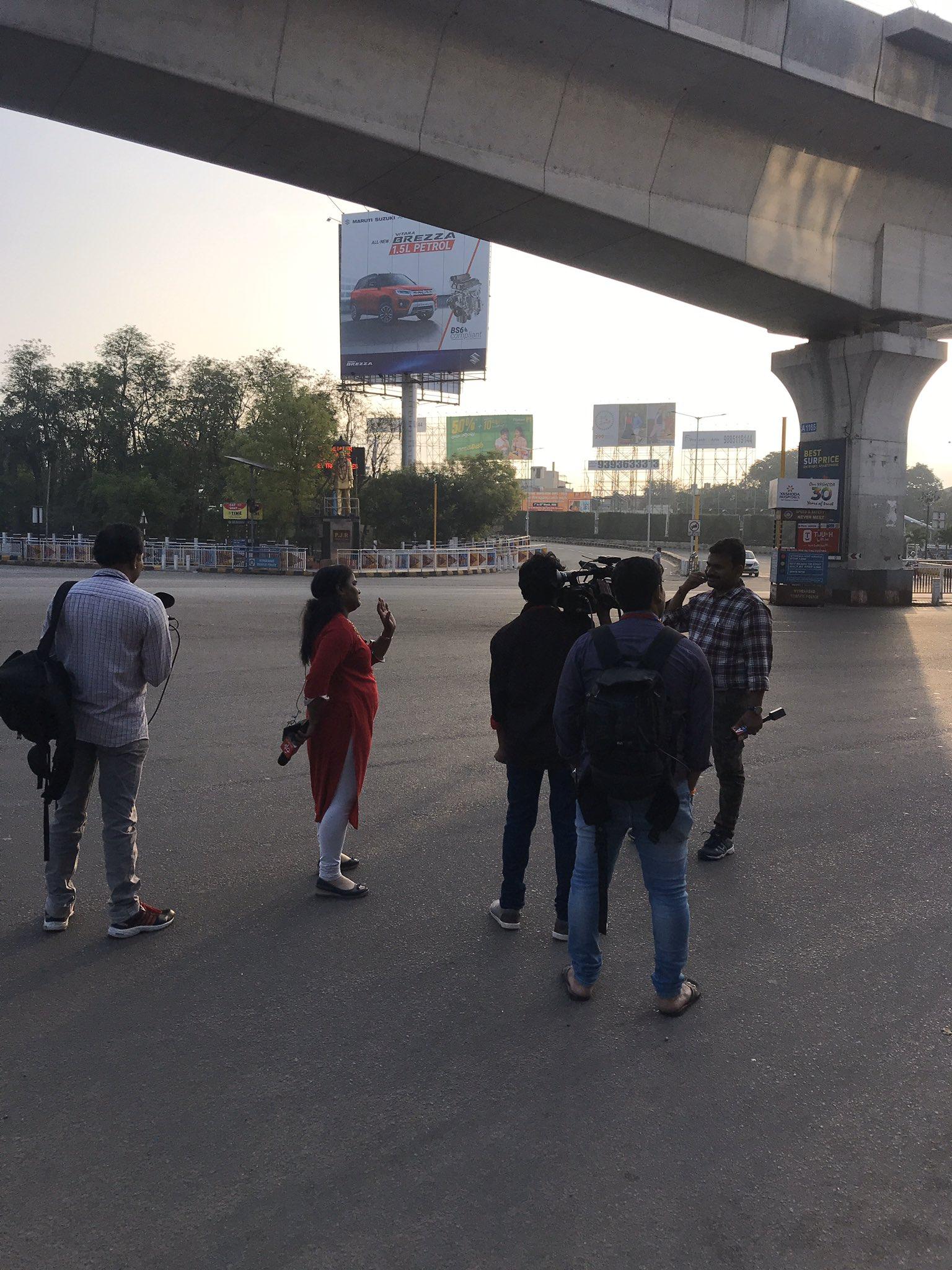 2c. Janatha Curfew Hyderabad