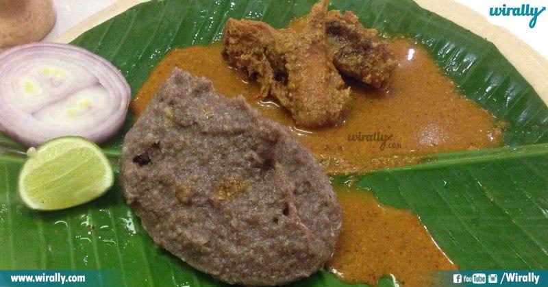 Rayalaseema - Ragi Muddha Natu Kodi Pulusu