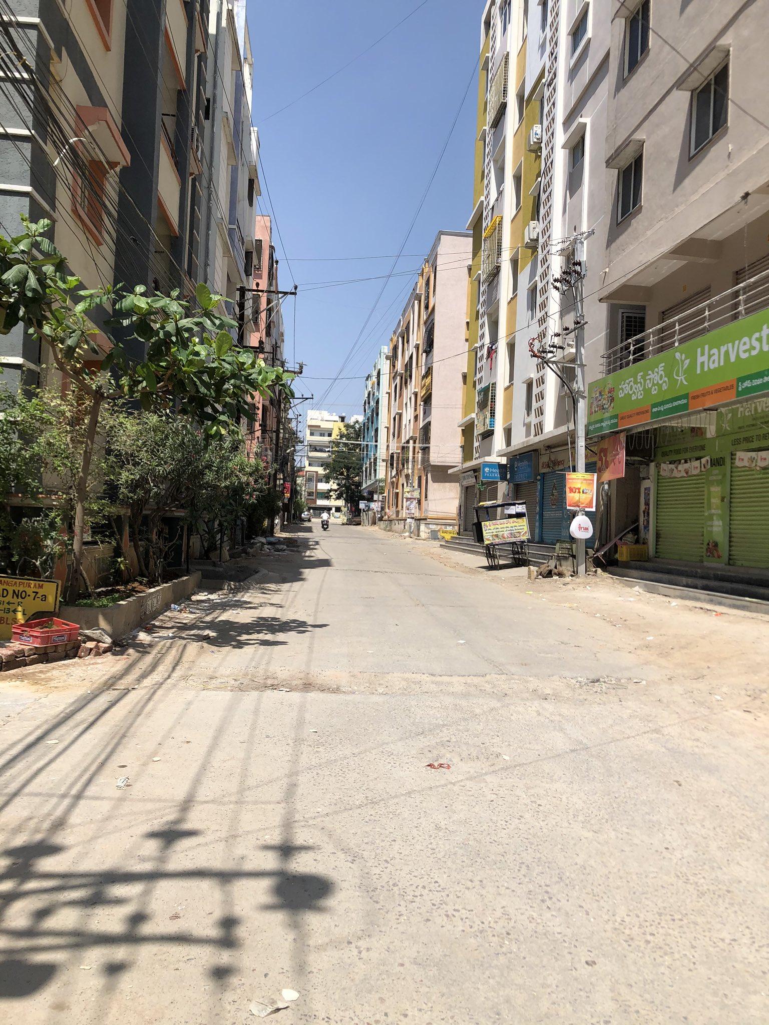 3a. Janatha Curfew Hyderabad
