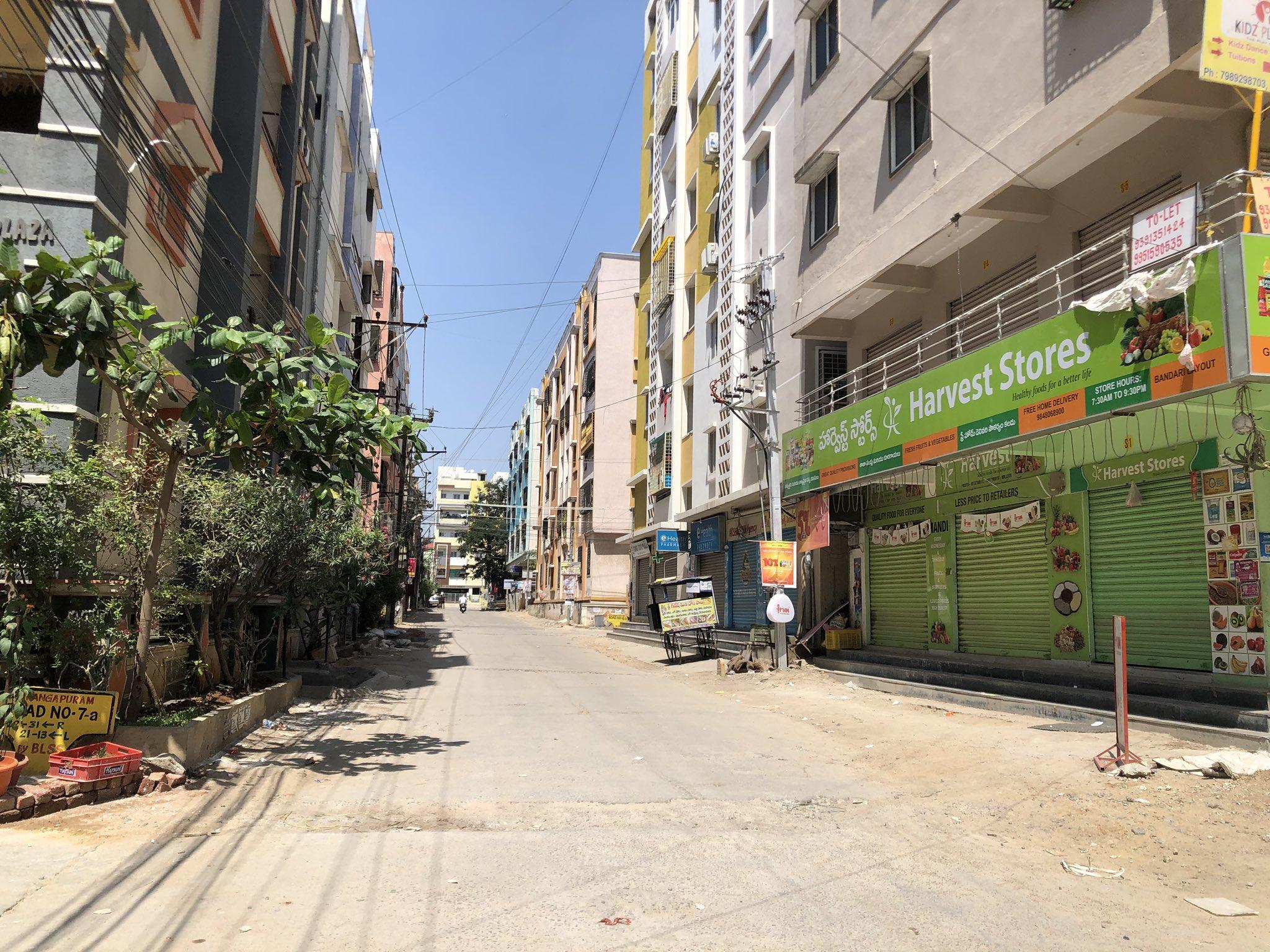 3b. Janatha Curfew Hyderabad