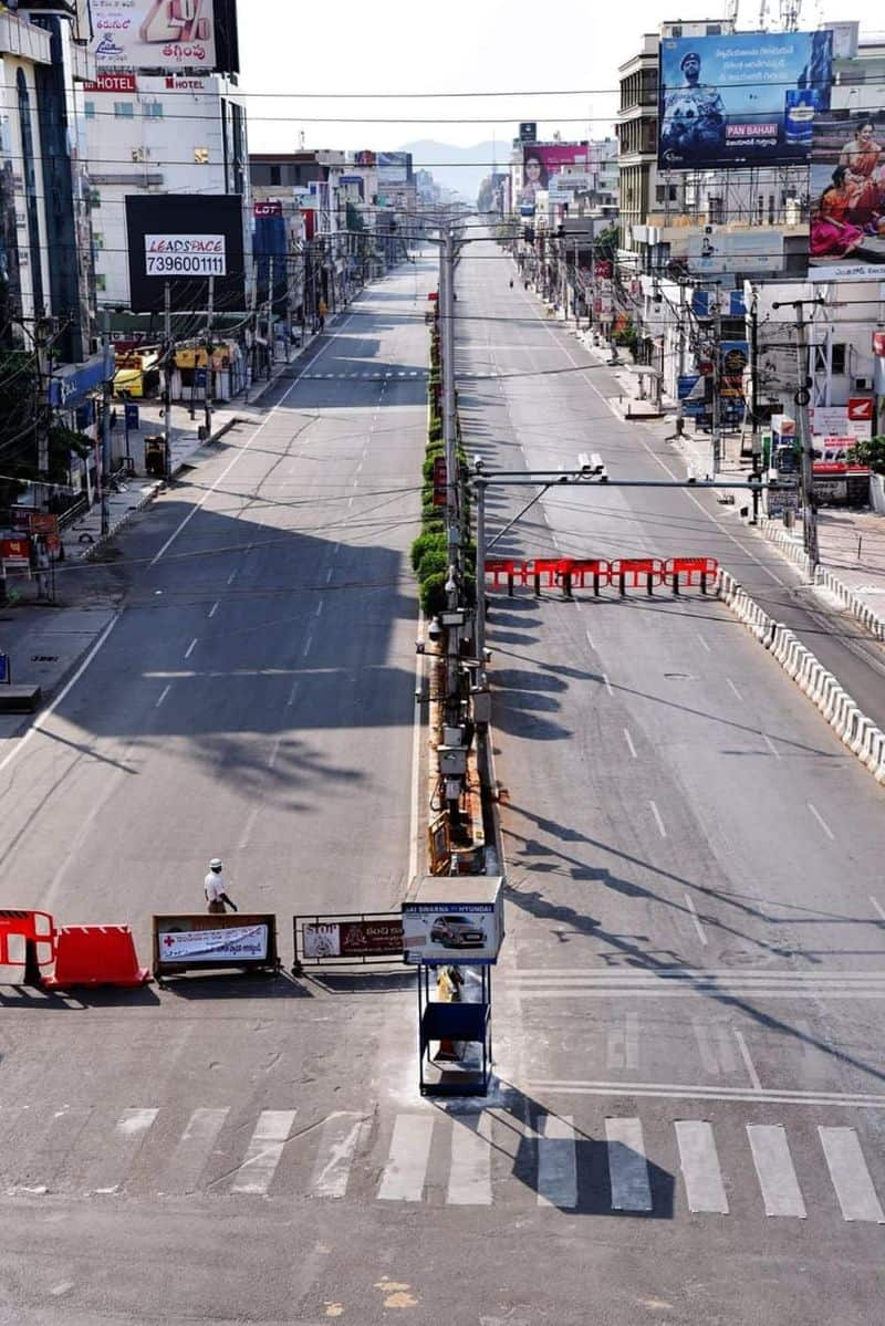 3e. Vijayawada Lockdown Images