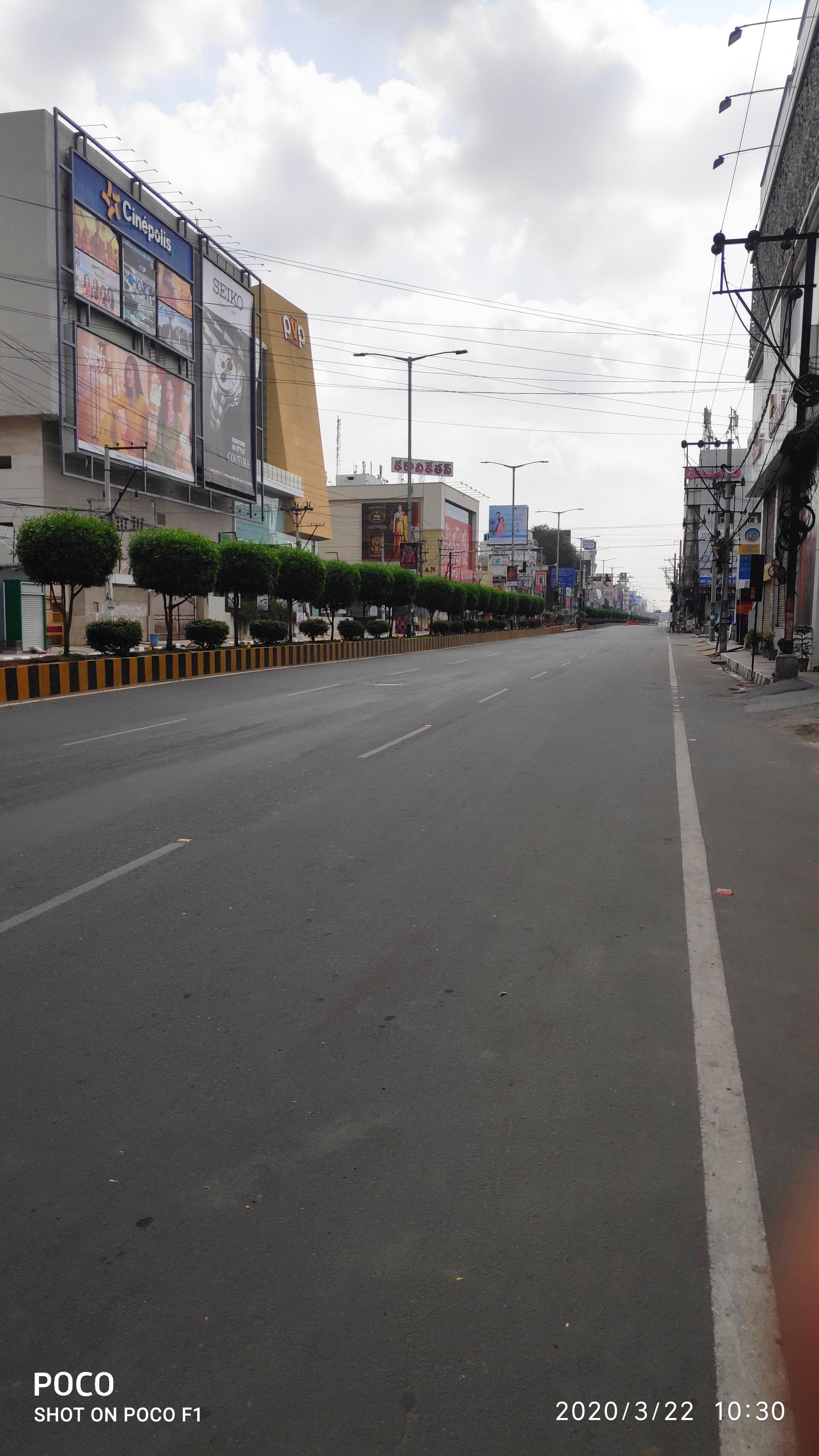 6. Vijayawada Janatha Curfew