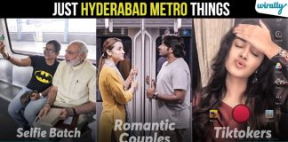 8 Common And Annoying Scenarios We Get To See Only In Hyderabad Metro Trains