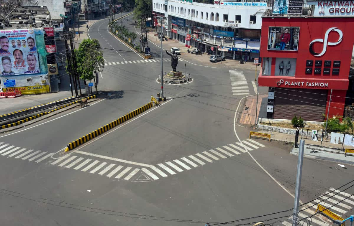 8b. Nagpur Lockdown Images