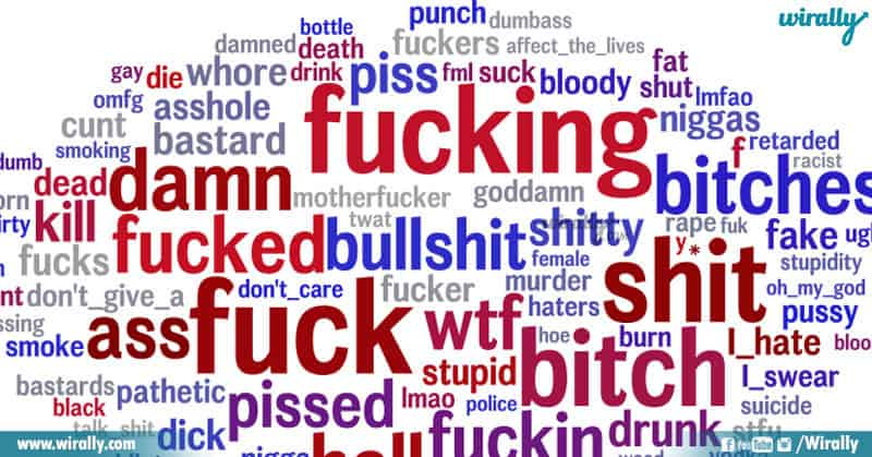 cuss words
