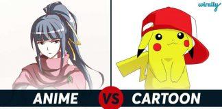 Anime Vs Cartoon 1