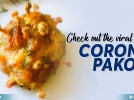 Check Out The Viral Corona Pakoda