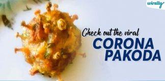 Check Out The Viral Corona Pakoda