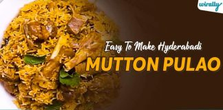 Easy To Make Hyderabadi Mutton Pulao