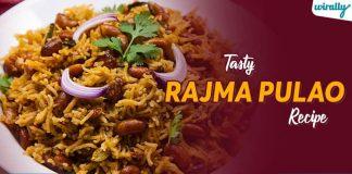 Tasty Rajma Pulao Recipe