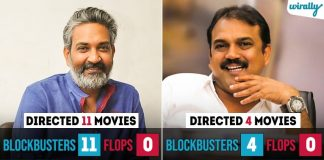These Track Record Of Our Tollywood Directors Are Proof That They Disappoint Us Very Rarely
