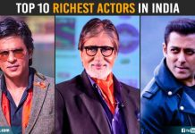 Top 10 Richest Actors In India