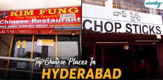 Top Chinese Places In Hyderabad
