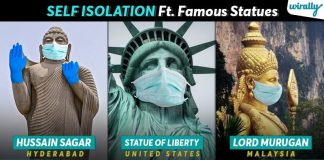 We Tried To Quarantine Few World Famous Statues With Masks & Gloves Just To Aware Everyone Out Here