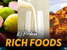 10 Protein Rich Foods