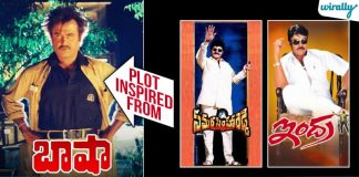 10 Telugu Movies Which Followed The Baasha Movie Plot. Some Went On To Become A Big Hits & Some Disasters (1)