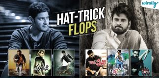 15 Times Our Tollywood Heroes Registered A Hat Trick Flops Once & More Than Once