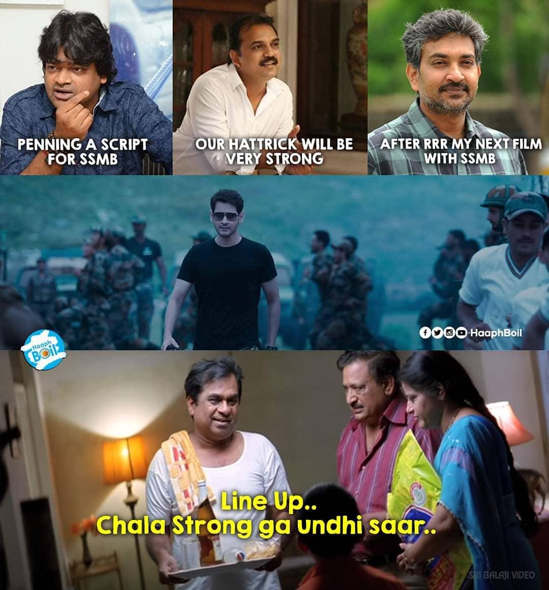 15. Mahesh Babu And Ss Rajamouli Memes