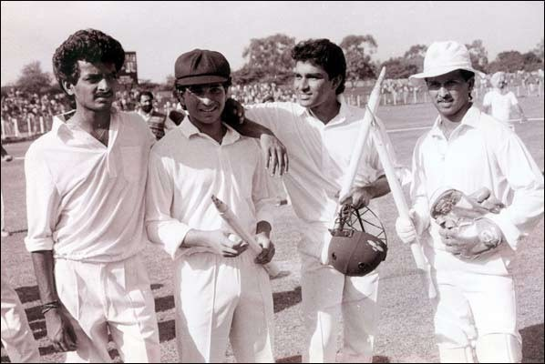 16. Rare Image Of Sachin With